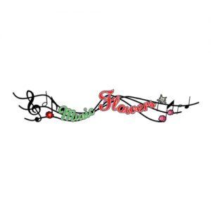 Logo Music Flowers, membru AADF