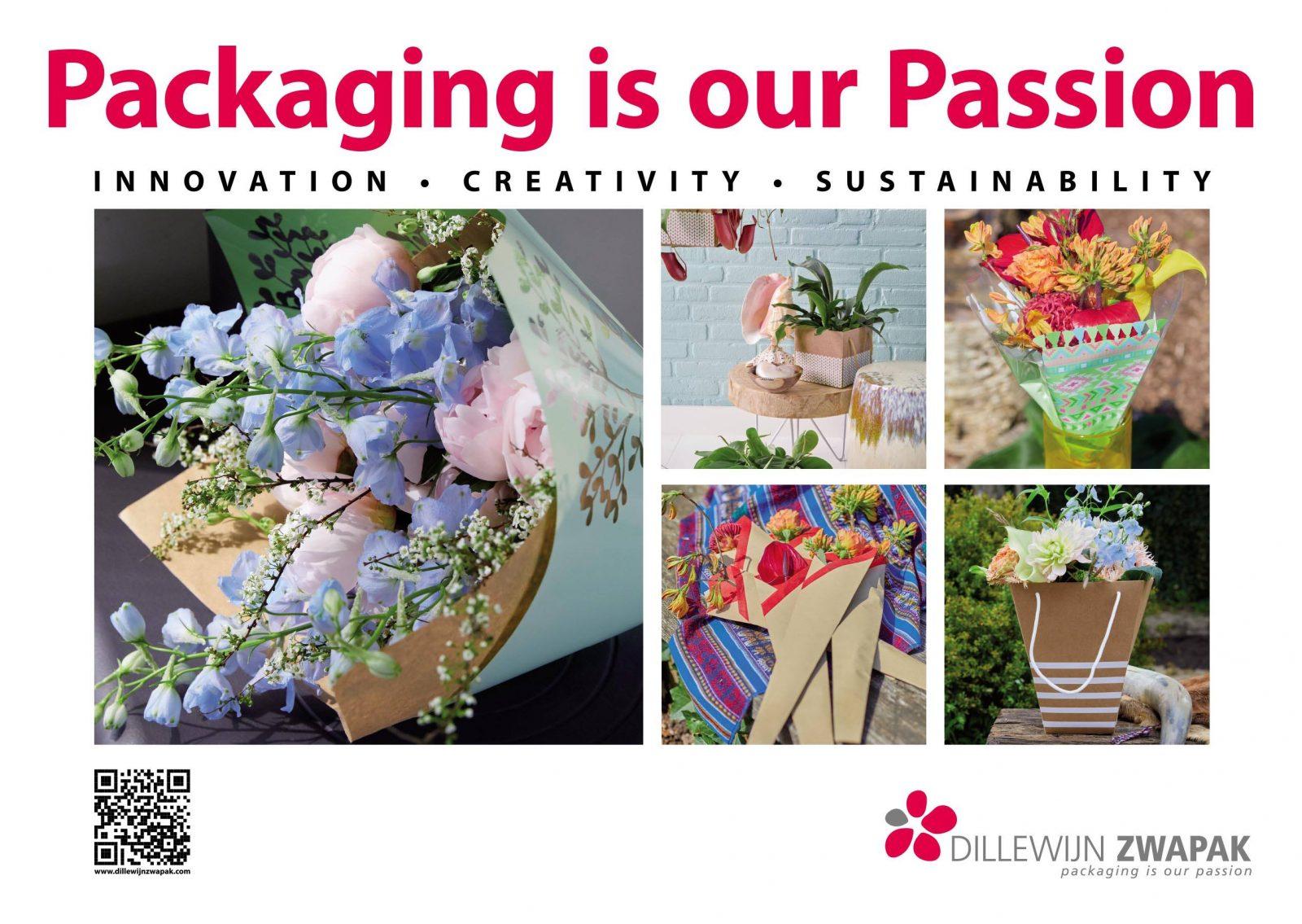 Dillewijn Zwapac - Ambalaje ecologice pentru domeniul floristic