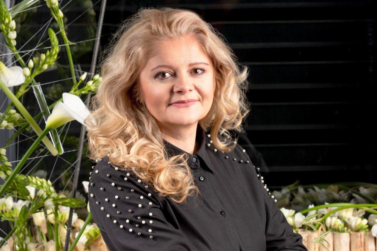 Cătălina Mincu, membru al Asociației Antreprenorilor din Domeniul Floristic din România