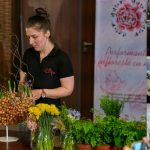 Alina Balanescu, florist, membru al Asociației Antreprenorilor din Domeniul Floristic din România