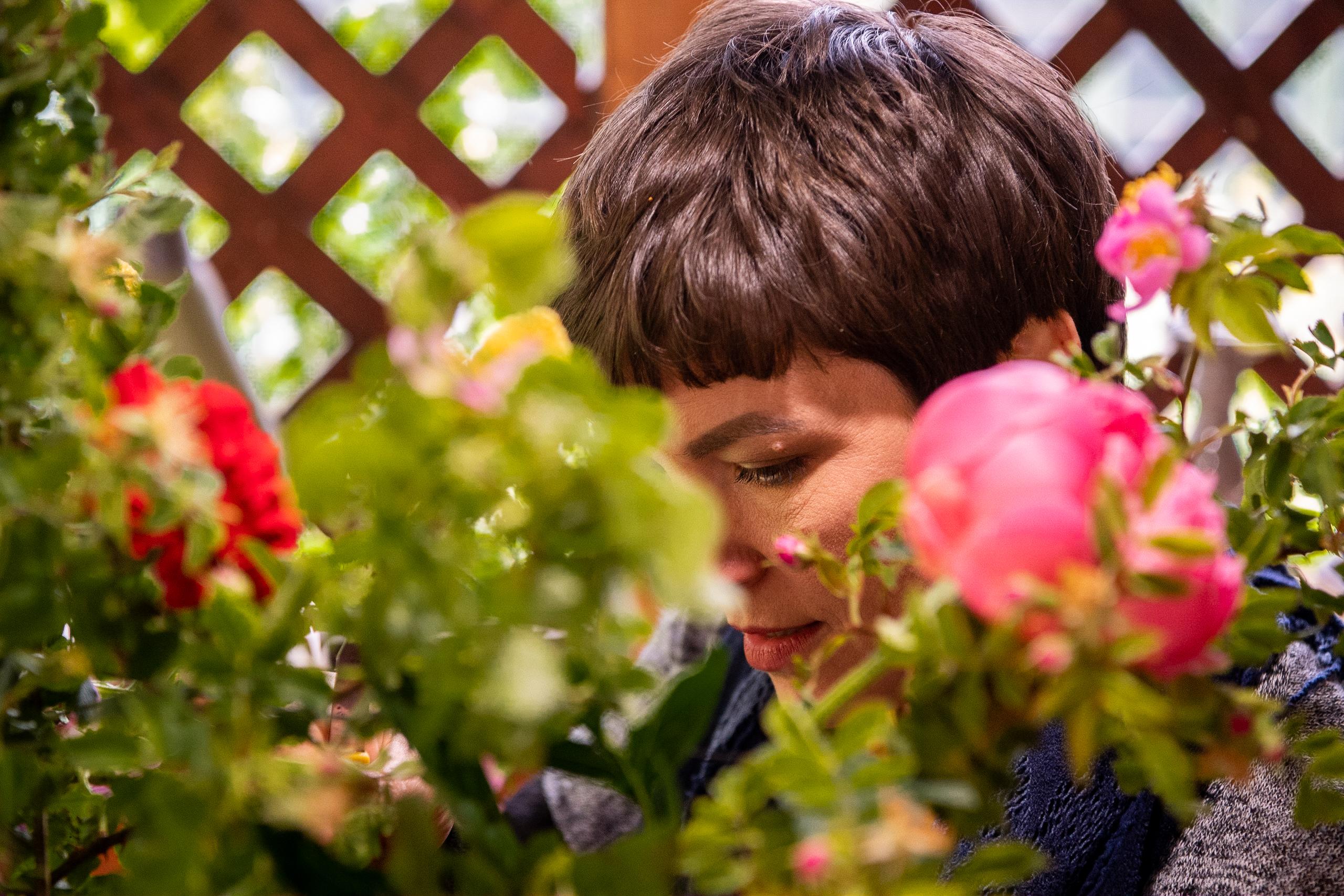 Diana Toma, florist, membru al Asociației Antreprenorilor din Domeniul Floristic din România