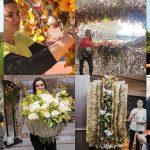Valeria Pop, florist, membru al Asociației Antreprenorilor din Domeniul Floristic din România