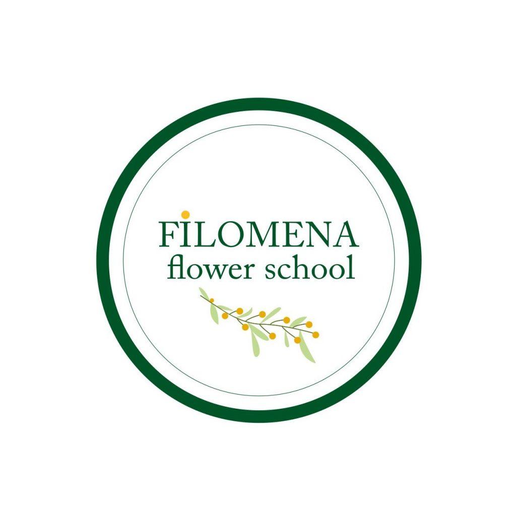 Logo Filomena Flower School