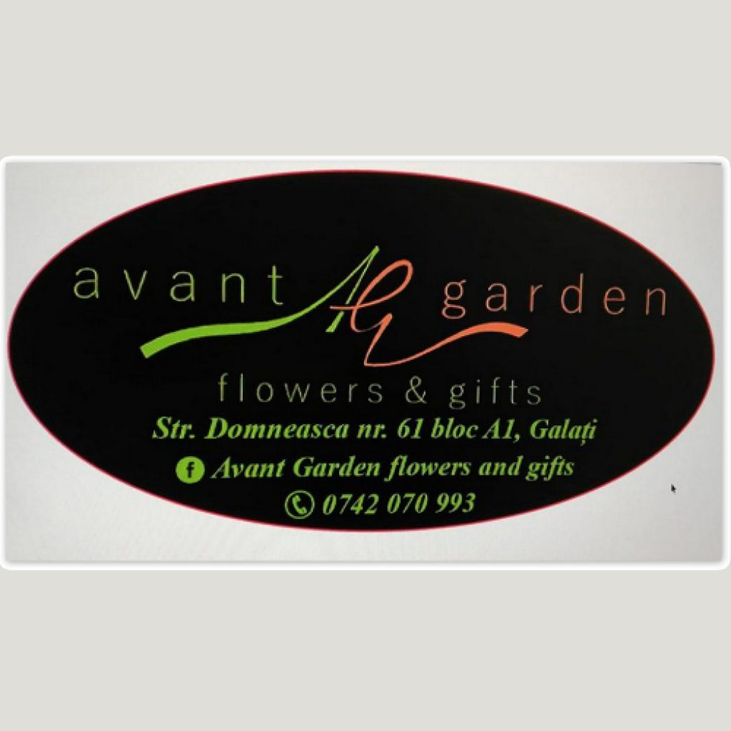 Logo florăria Avant Garden din Galați