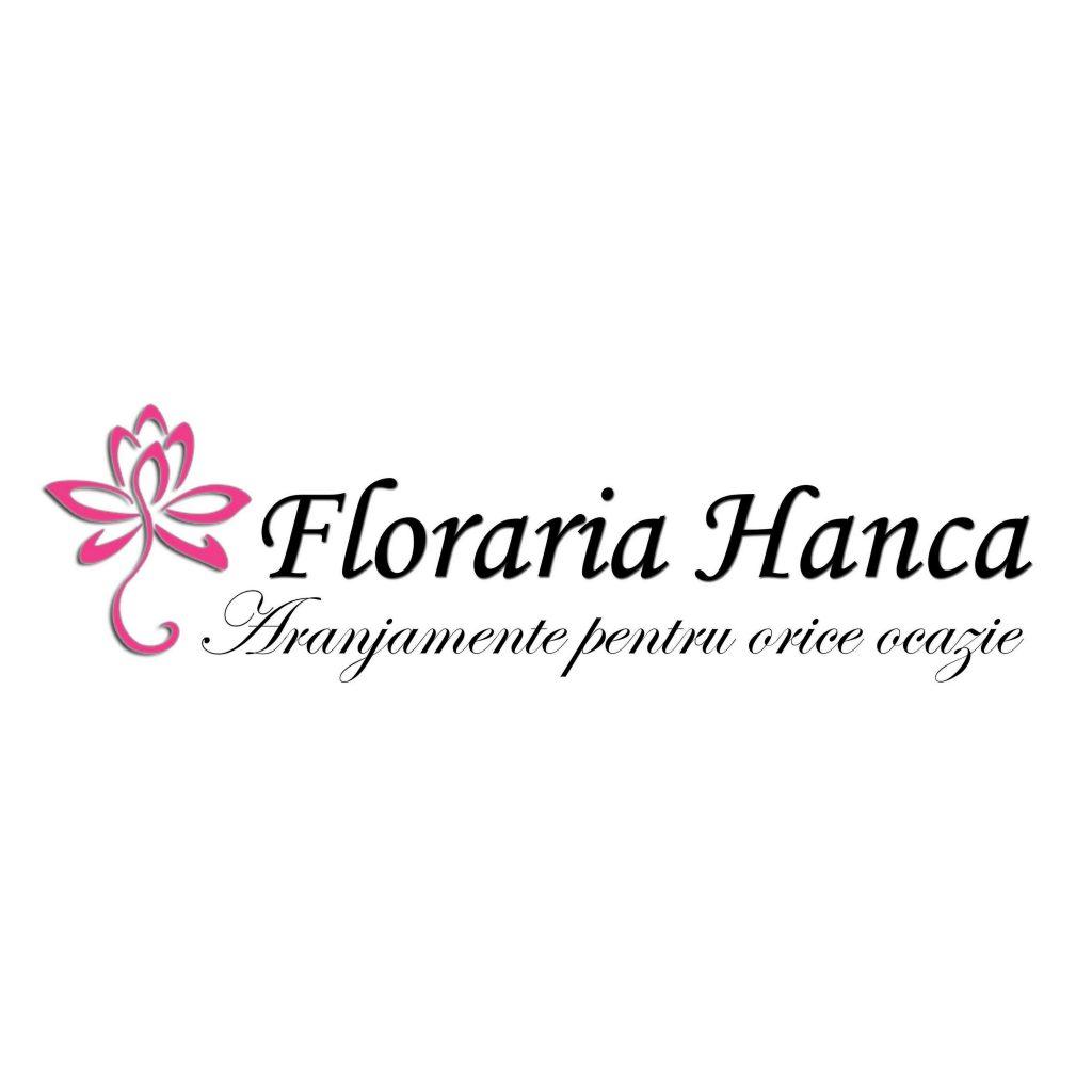 Logo al florăriei Hanca din Florești, județul Cluj